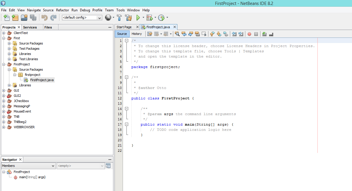 Setting up the JDK & the NetBeans IDE - Affarit Studio | Programming