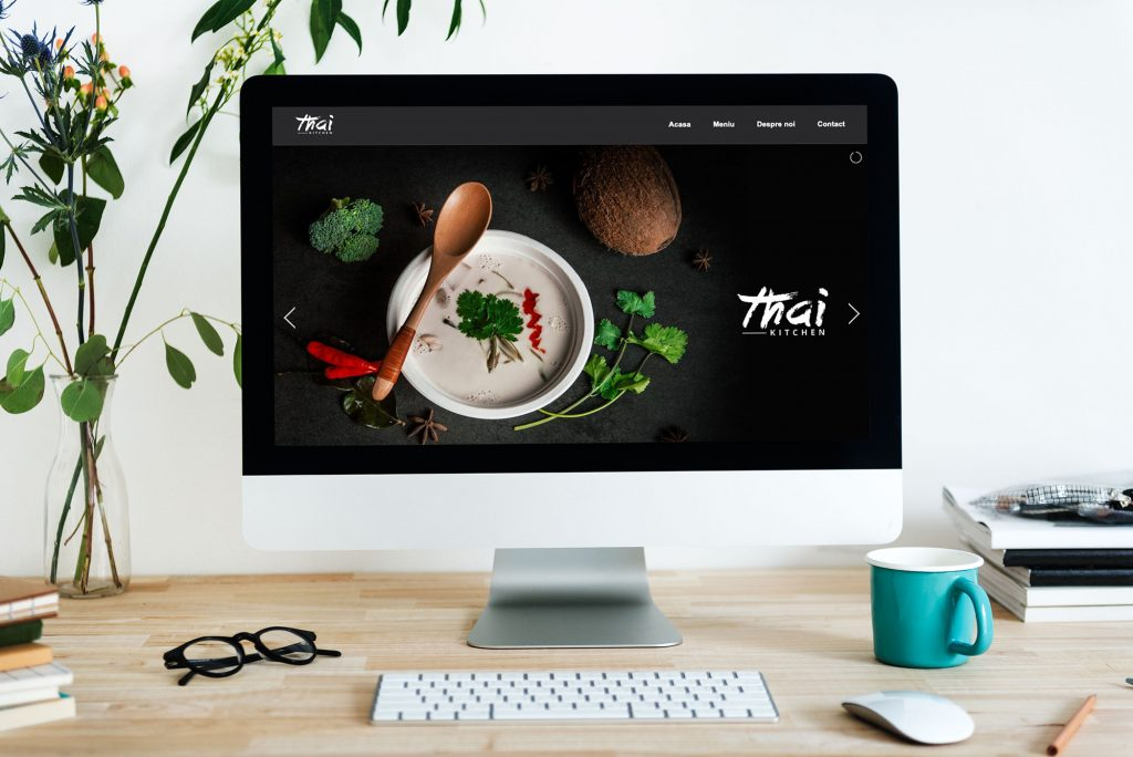 thai kitchen restaurant design webpage development porgramare affarit studio romania mures web