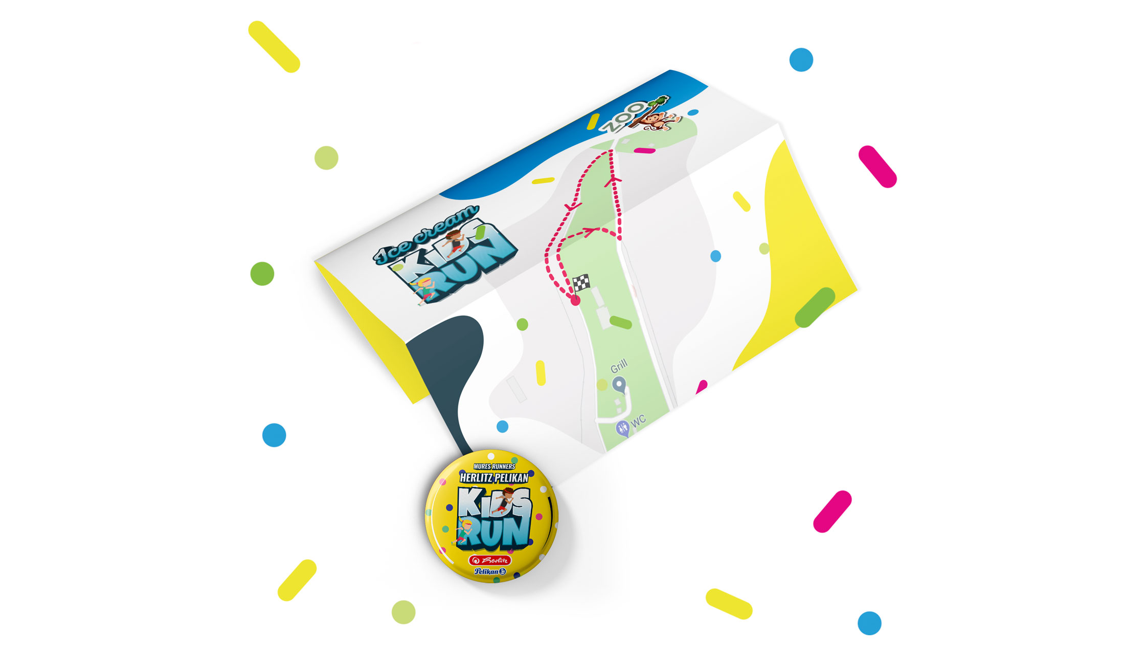 mures runners ice cream kids run romania mures branding affarit studio design firma dezvoltare soft